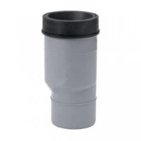 Патрубок для унитаза 110 мм серый, удлиненный, Uponor