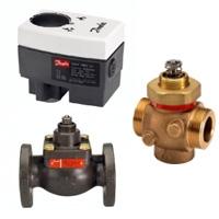 Электрические средства автоматизации тепловых пунктов и центральных вентиляционных установок