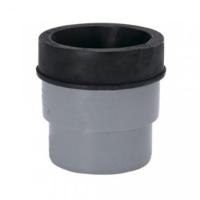 Патрубок для унитаза 110 мм серый, короткий, Uponor